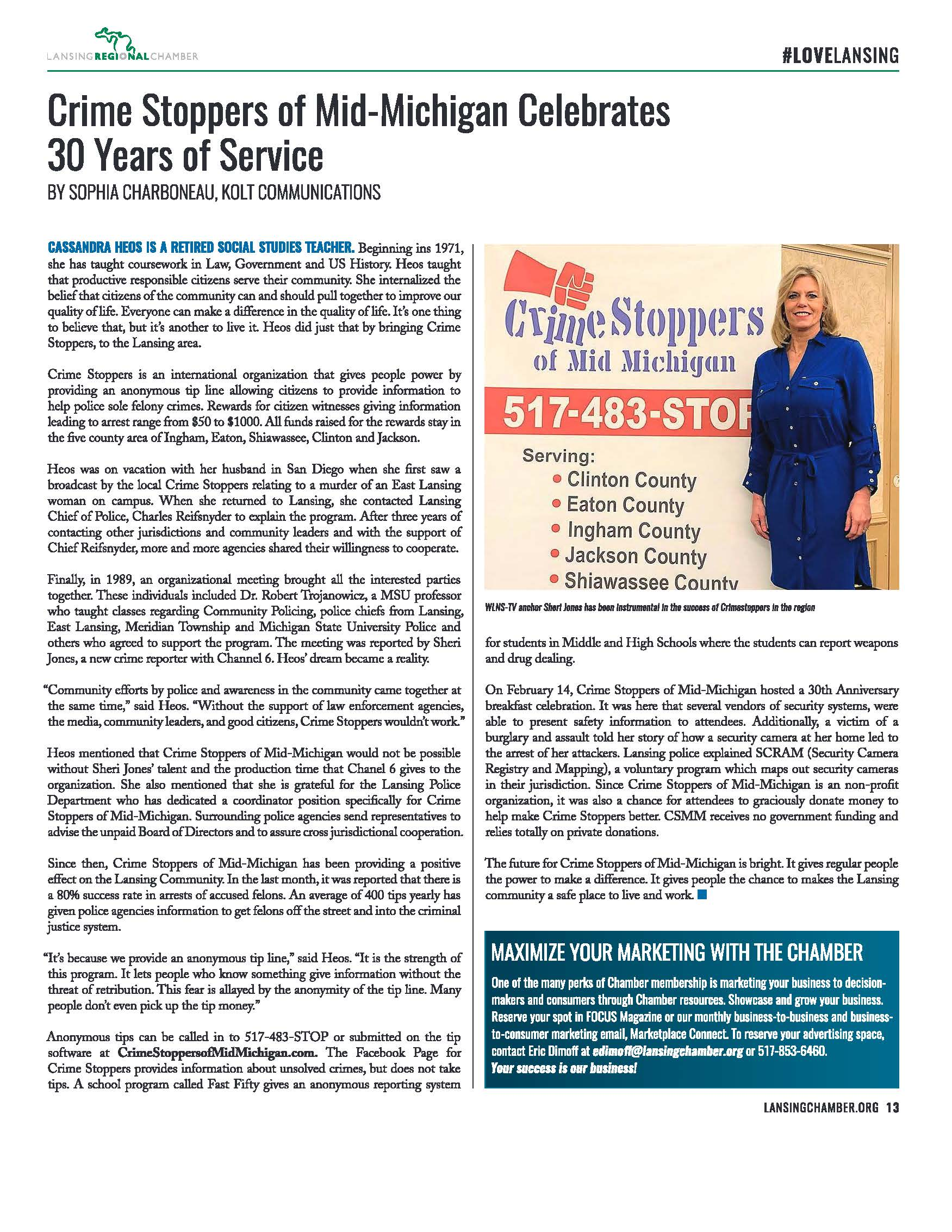 March 2019 Chamber Article